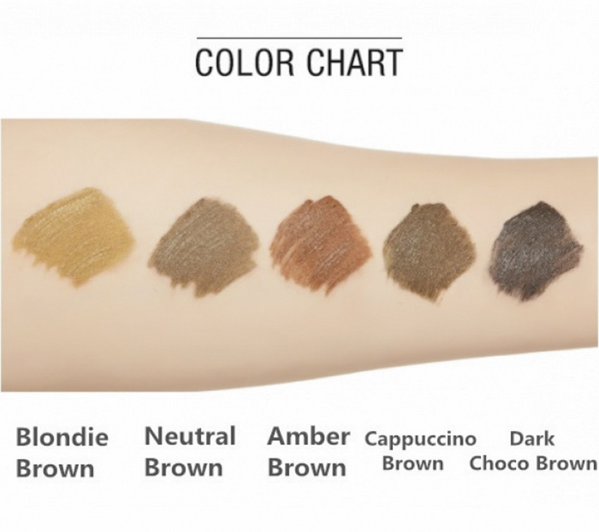 Тушь для бровей Missha Color Wear Browcara Blondy Brown 7,5 г (8809530056110)