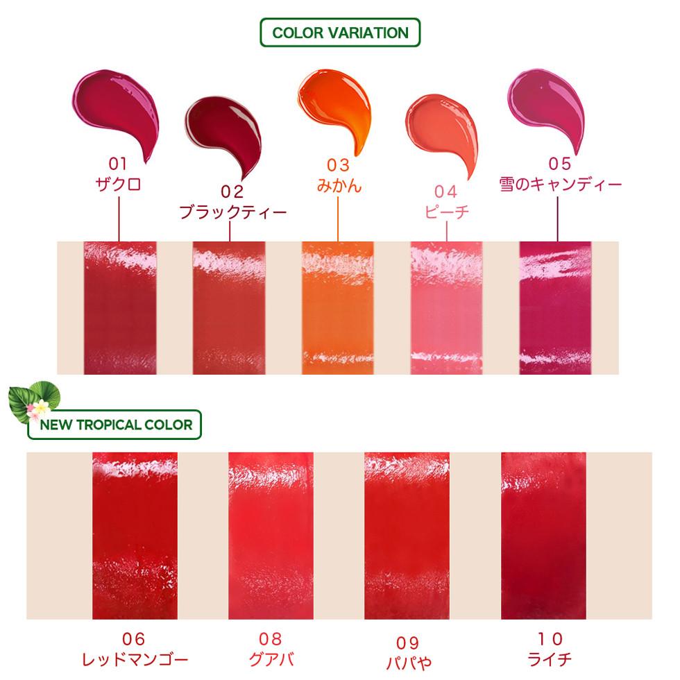 Тинт для губ гелевый The Saem Saemmul Jelly Candy Tint, 8 г 03 Persimmon Orange (8806164147283)