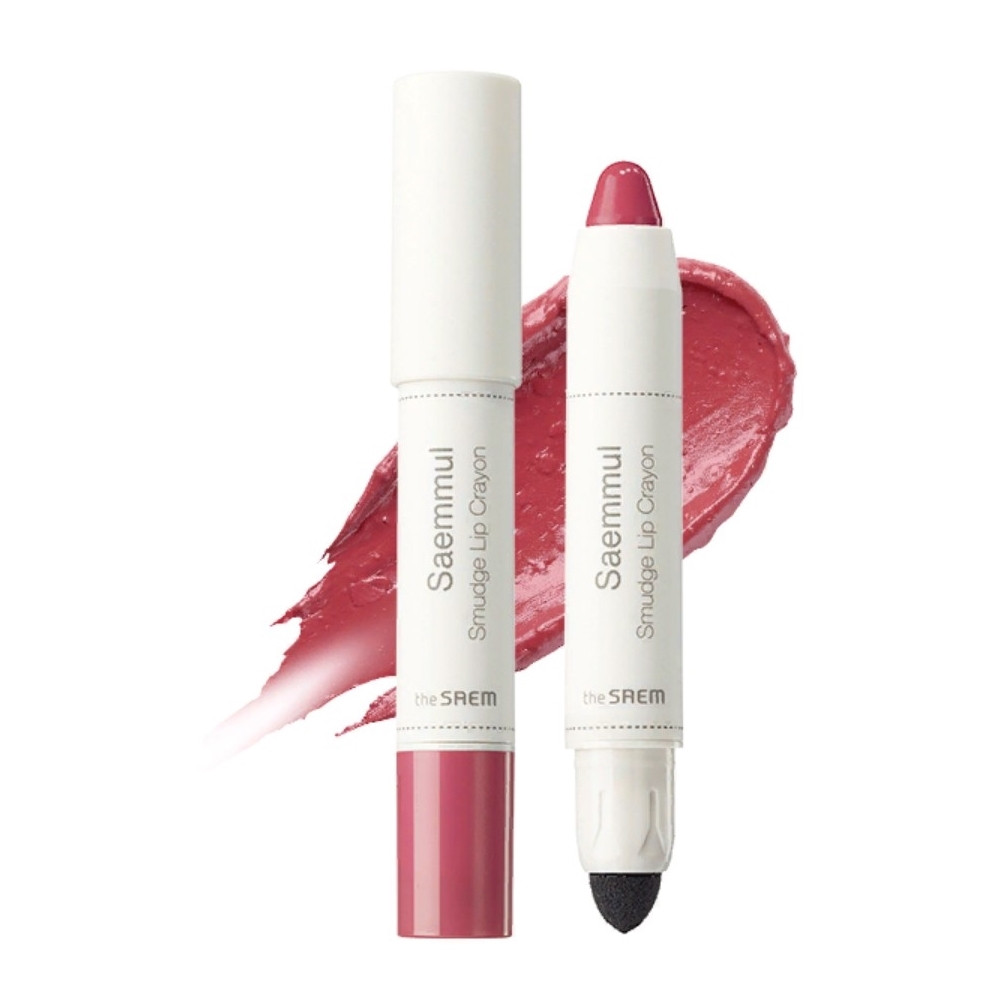 Помада-карандаш для губ The Saem Saemmul Smudge Lip Crayon - BE01 3,5 г (8806164135426)
