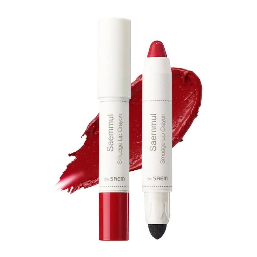 Помада-карандаш для губ The Saem Saemmul Smudge Lip Crayon - RD01 3,5 г (8806164135488)