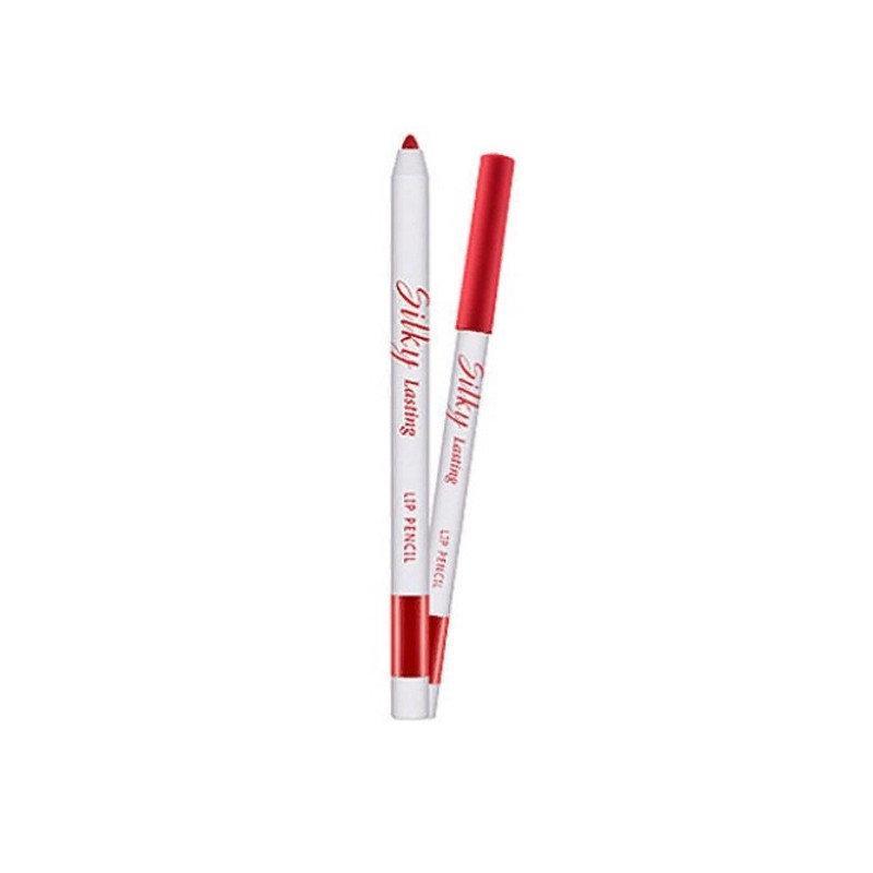 Многофункциональный карандаш для губ 3в1 Missha Silky Lasting Lip Pencil CR01/Lost Girl 0,25 г (8806185738880)
