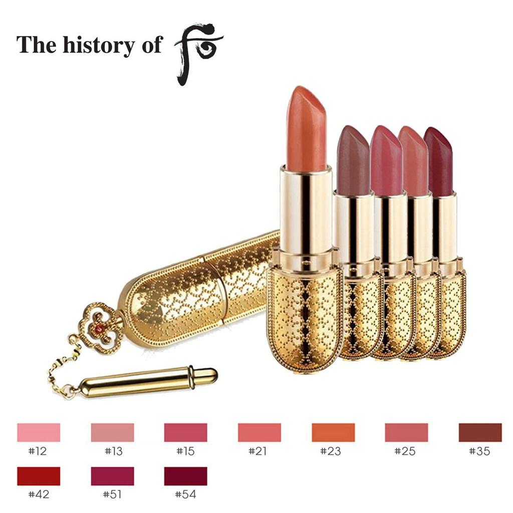 Помада и блеск для губ The History of Whoo Gongjinhyang Mi Luxury Lipstick (#13 Pink Beige) 3,5 г (8801051972795)