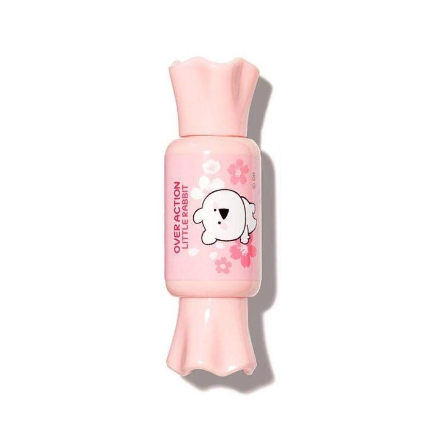 Тинт-мусс для губ The Saem Over Action Little Rabbit Saemmul Mousse Candy Tint - 15 Coral 8 г (8806164161487)
