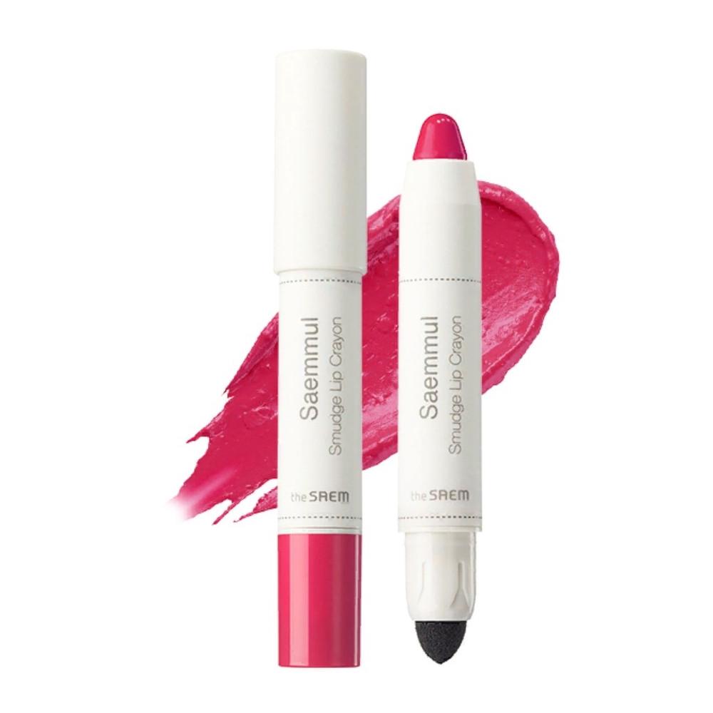Помада-карандаш для губ The Saem Saemmul Smudge Lip Crayon - PK02 3,5 г (8806164135471)