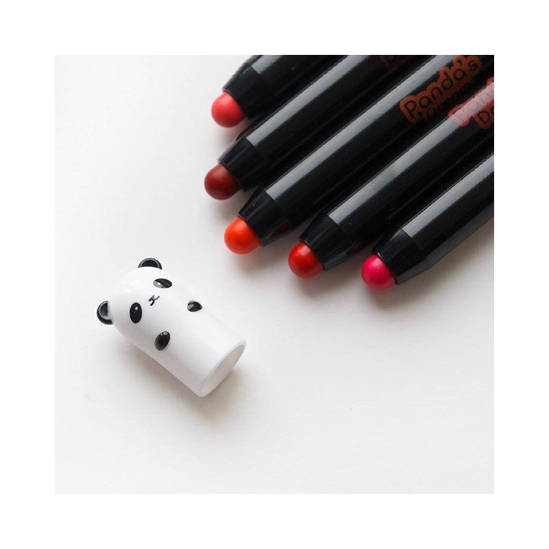 Стойкая помада-карандаш Tony Moly Panda's Dream Glossy Lip Crayon - 04 Red Berry 1,5 г (8806358560638)