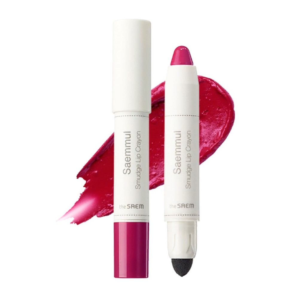 Помада-карандаш для губ The Saem Saemmul Smudge Lip Crayon - PK01 3,5 г (8806164135464)