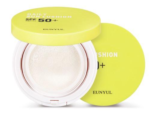 Кушон для лица солнцезащитный Eunyul Daily Sun Cushion SPF 50+ PA++++ 13 г (8809435406607)