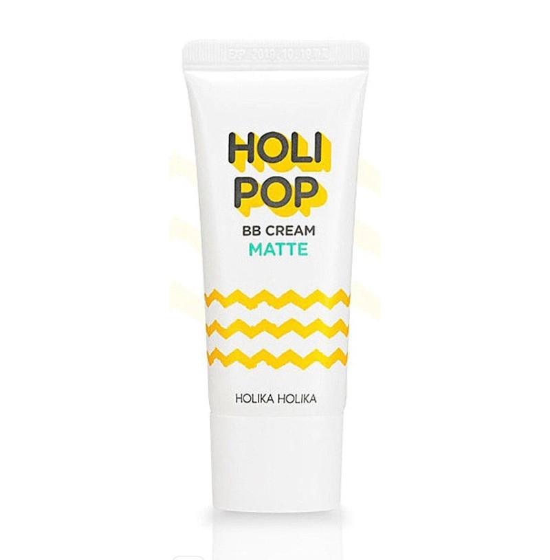 Матирующий ВВ-крем для лица Holika Holika Holi Pop BB Cream Matte SPF30 PA++ 30мл (8806334372521)