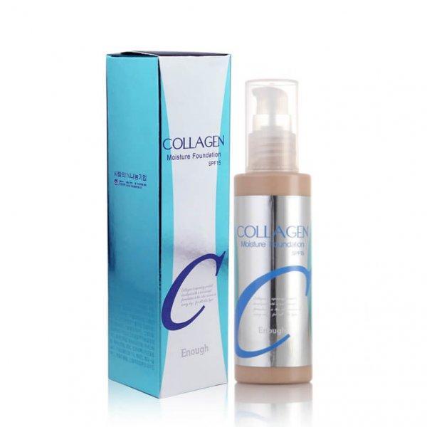 Увлажняющий тональный крем с коллагеном Enough Collagen Moisture Foundation 100 мл 23 тон (8809280062386)