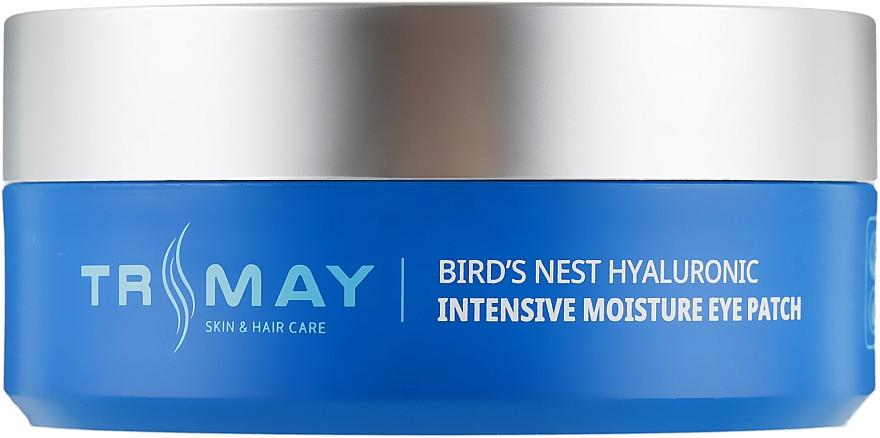 Увлажняющие гидрогелевые патчи под глаза Trimay Bird's Nest Hyaluronic Intensive Moisture Eye Patch 60 шт (8809706860138)