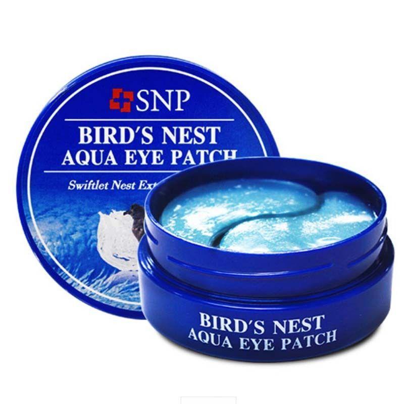 Гидрогелевые патчи для глаз с экстрактом ласточкиного гнезда SNP Bird's Nest Aqua Eye Patch 60 шт 84 г (8809239802766)