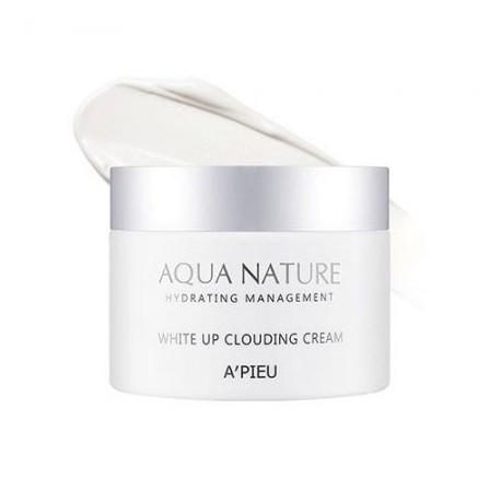 Крем для лица осветляющий A'pieu Aqua Nature White Up Clouding Cream 60 мл (8809581446977)