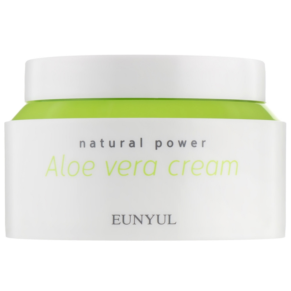 Увлажняющий крем для лица с алоэ вера Eunyul Natural Power Aloe Cream 100 мл (8809435404924)