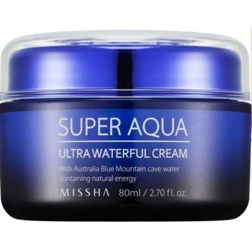 Супер-увлажняющий крем для лица Missha Super Aqua Ultra Waterful Cream 80 мл (8806185787086)