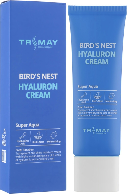 Увлажняющий крем для лица с экстрактом ласточкиного гнезда Trimay Hyalurone Bird's Nest Cream 50 мл (8809706860077)