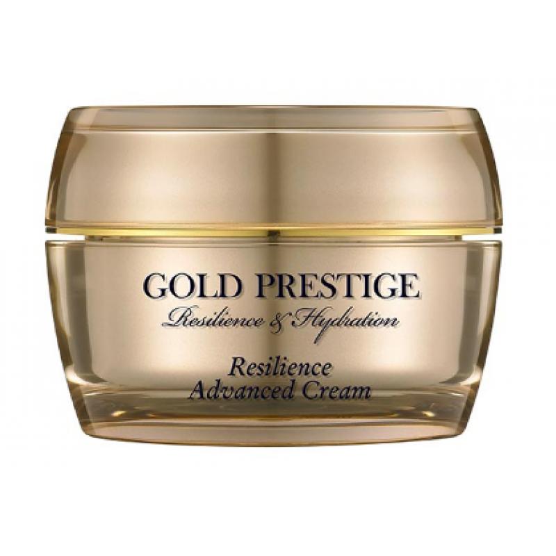 Антивозрастной крем для упругости кожи лица Ottie Gold Prestige Resilience Advanced Cream 50 мл (8809276016614)