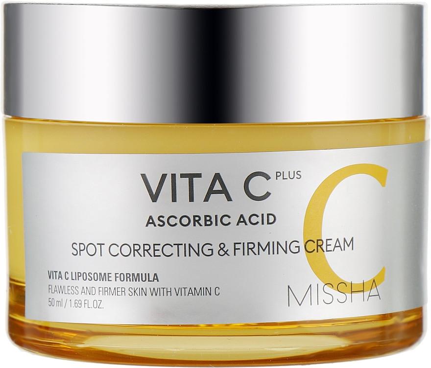Укрепляющий крем для лица с витамином С Missha Vita C Plus Spot Correcting & Firming Cream 50 мл (8809643523462)