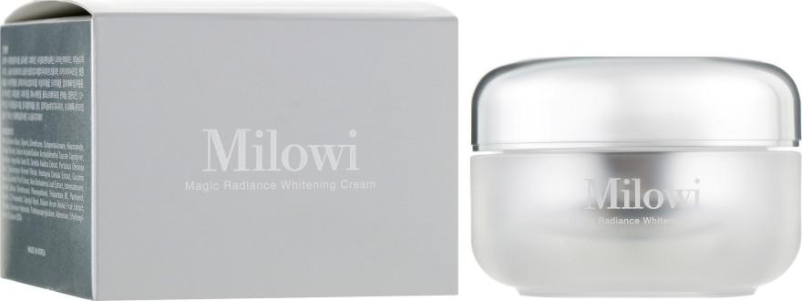 Осветляющий крем для лица Milowi Magic Radiance Whitening Cream 50 г (8809298739775)