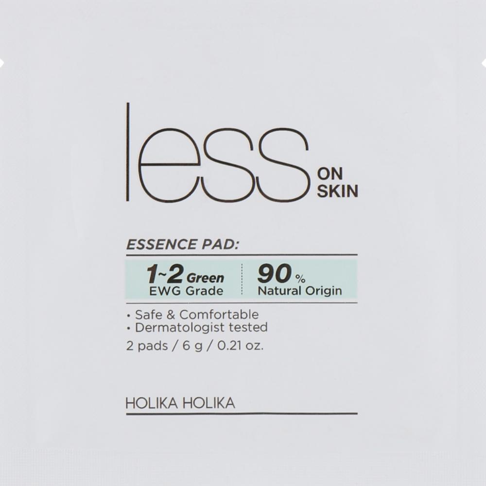 Диски для проблемной кожи Holika Holika Less On Skin Essence Pad (2 шт) (8806334382537)