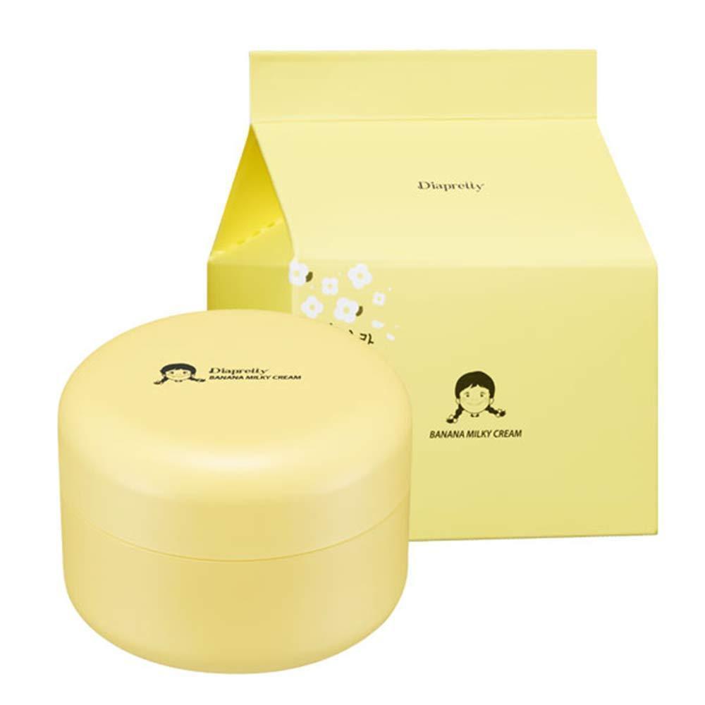 Банановый крем для лица с молочными протеинами Diapretty Banana Milky Cream 50 мл (8809532990139)