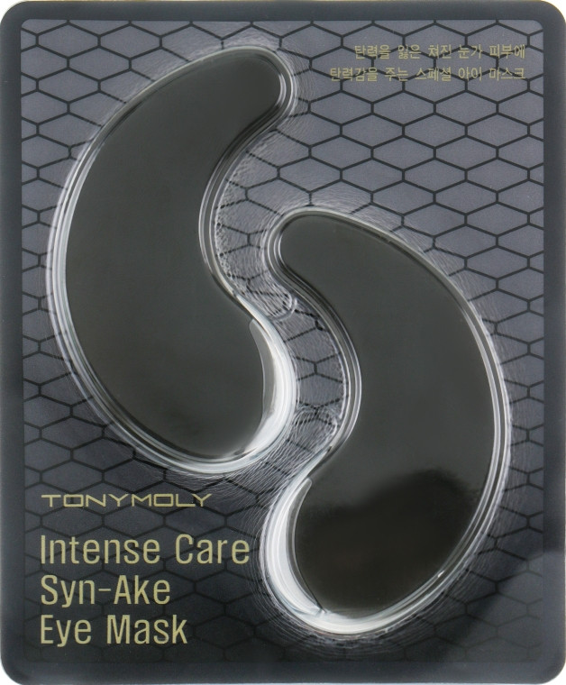 Гидрогелевые патчи под глаза со змеиным ядом Tony Moly Intense Care Syn-Ake Eye Mask 10 г (8806358544836)