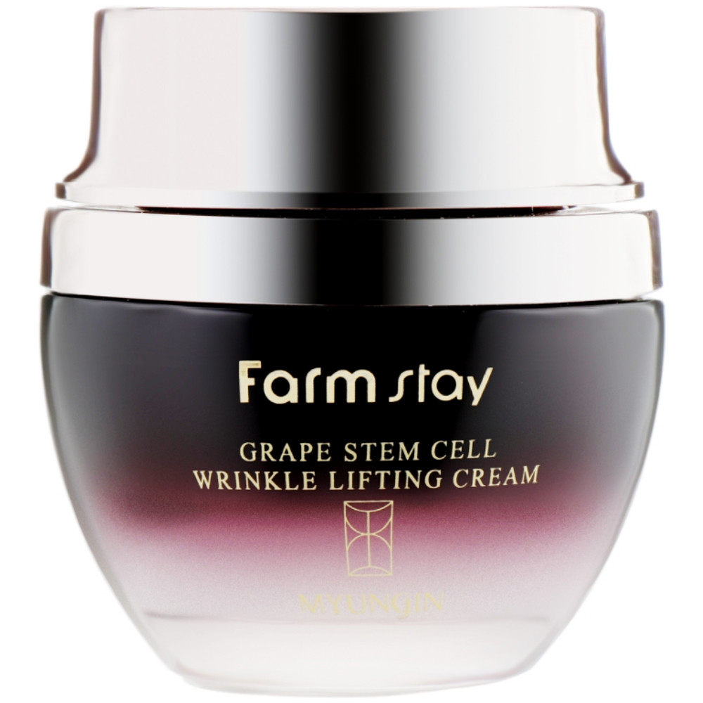 Крем-лифтинг против морщин Farmstay Grape Stem Cell Wrinkle Lifting Cream 50 мл (8809317284934)