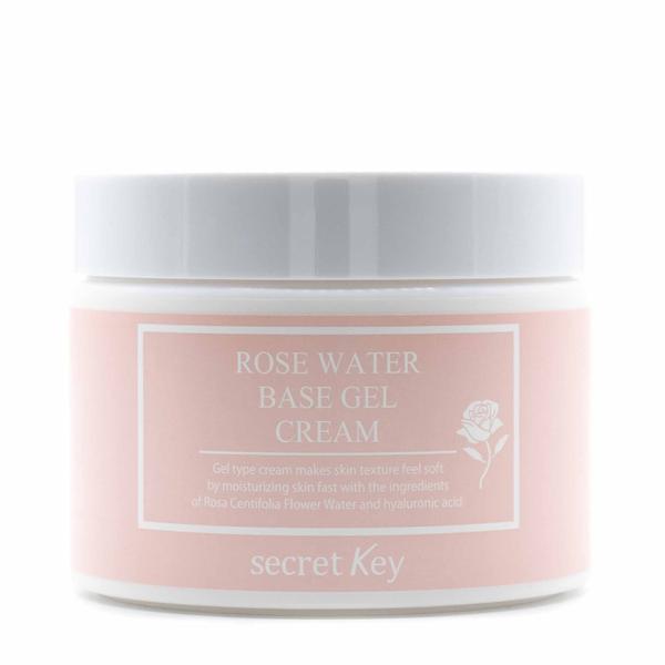 Гель-крем для лица на основе розовой воды Secret Key Rose Water Base Gel Cream 100 г (8809305999093)