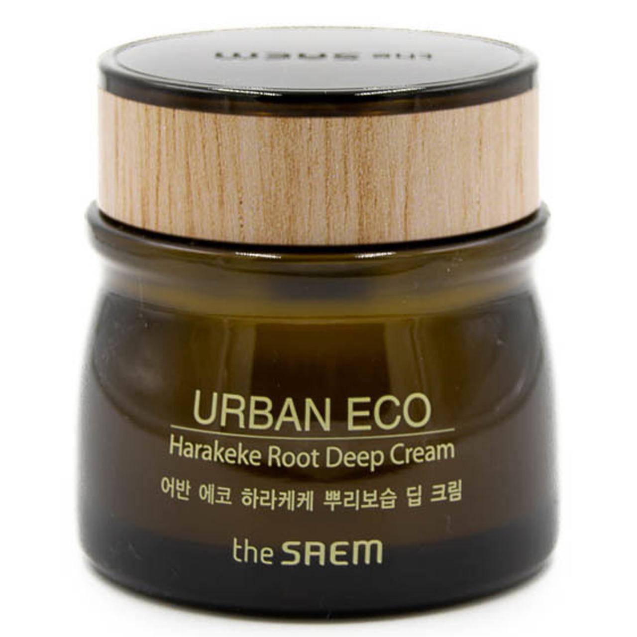 Увлажняющий крем для лица The Saem Urban Eco Harakeke Root Deep Cream 60 мл (8806164150085)