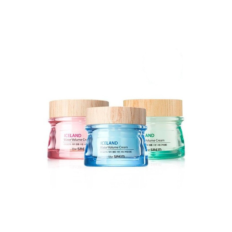 Глубоко увлажняющий крем The Saem Iceland Water Volume Hydrating Cream Dry Skin 80 мл (8806164145739)