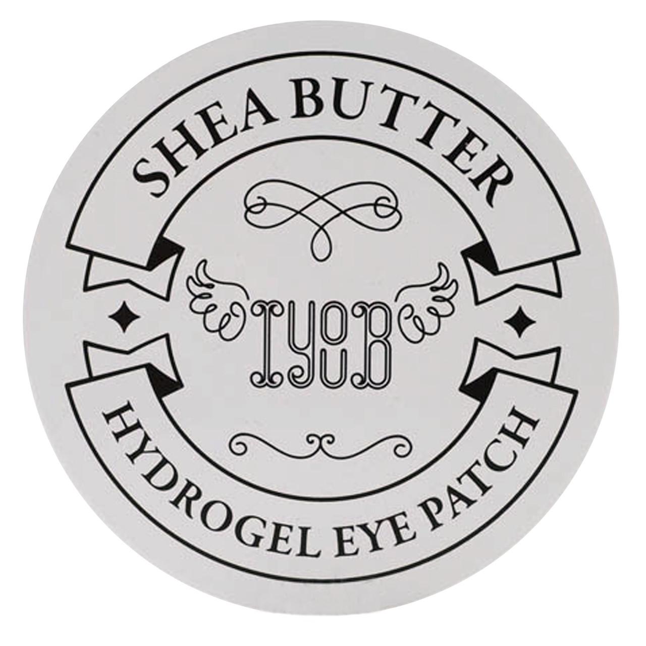 Гидрогелевые патчи для глаз с маслом ши Iyoub Hydrogel Eye Patch Shea Butter 60 шт (8809524610250)