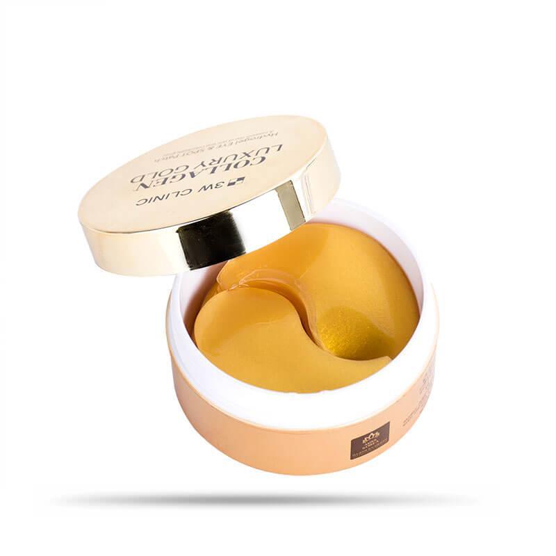 Премиальные гидрогелевые патчи для век с коллагеном 3W Clinic Collagen & Luxury Gold Eye Patch 60 шт (8809389032372)