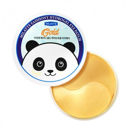 Гидрогелевые патчи для кожи вокруг глаз с золотом Milatte Fashiony Gold Hydrogel Eye Patch 60 шт (8809535260031)