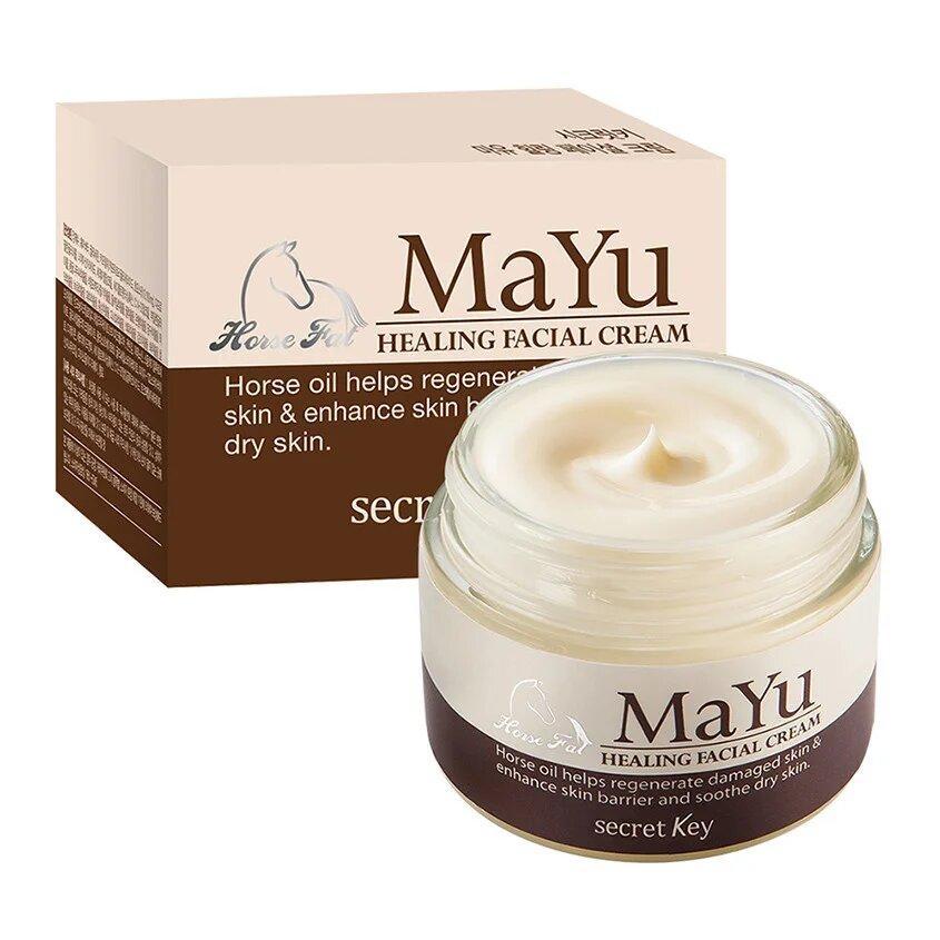 Крем для лица восстанавливающий Secret Key Mayu Healing Facial Cream 70 мл (8809305995262)