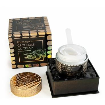 Крем для лица с жиром крокодила Farmstay Crocodile Oil Cream 70 мл (8809187043075)