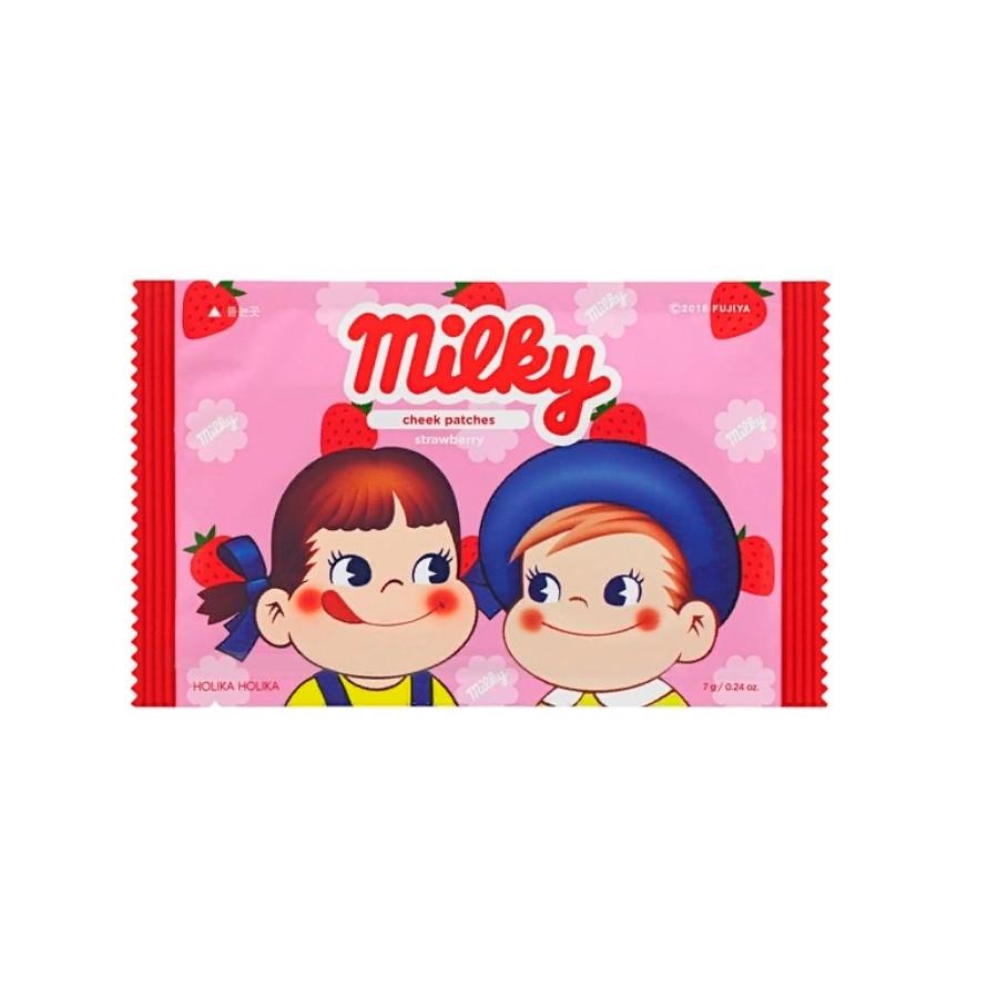 Мини-патчи для щек Holika Holika Peko Cheek Patches Strawberry 7 г (8806334379377)