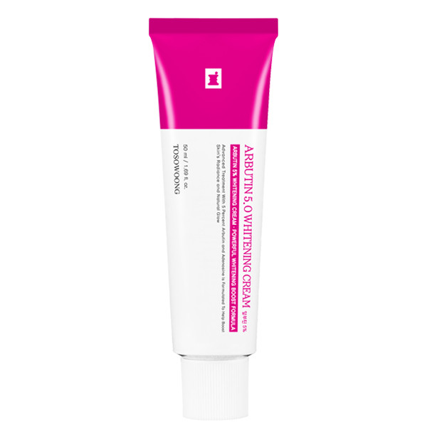 Отбеливающий крем для лица с арбутином Tosowoong Arbutin 5% Whitening Cream 50 мл (8809179106009)