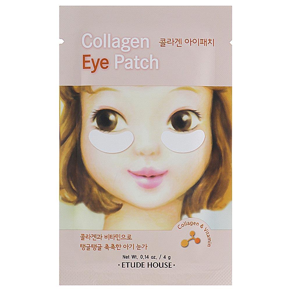 Антивозрастные коллагеновые патчи для глаз Etude House Collagen Eye Patch 1 пара (8806382609556)