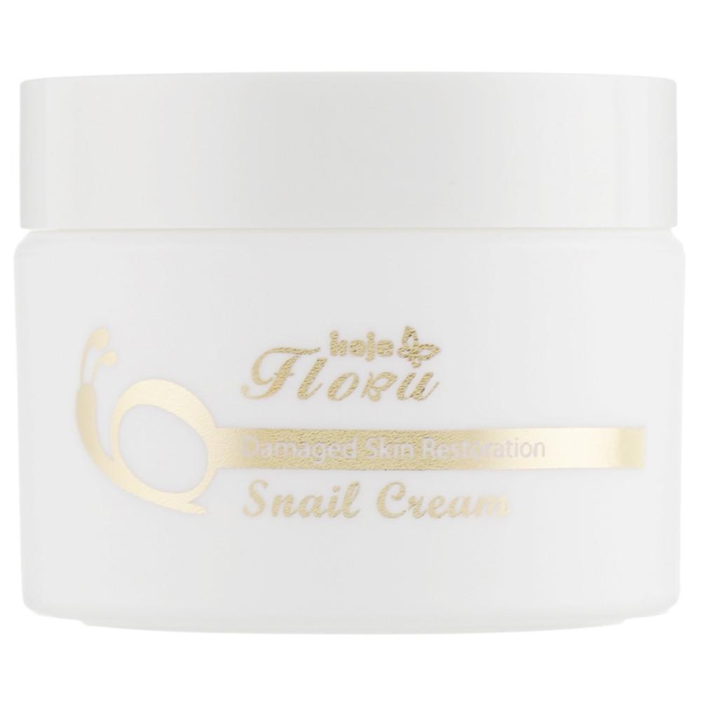 Восстанавливающий крем для лица Konad Iloje Flobu Revital Snail Cream Skin Care 50 мл (8809109832800)