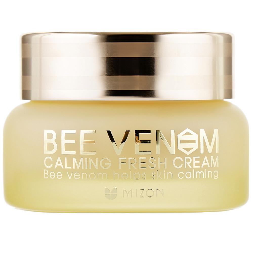 Успокаивающий крем для лица с пчелиным ядом Mizon Bee Venom Calming Fresh Cream 50 мл (8809390121287)