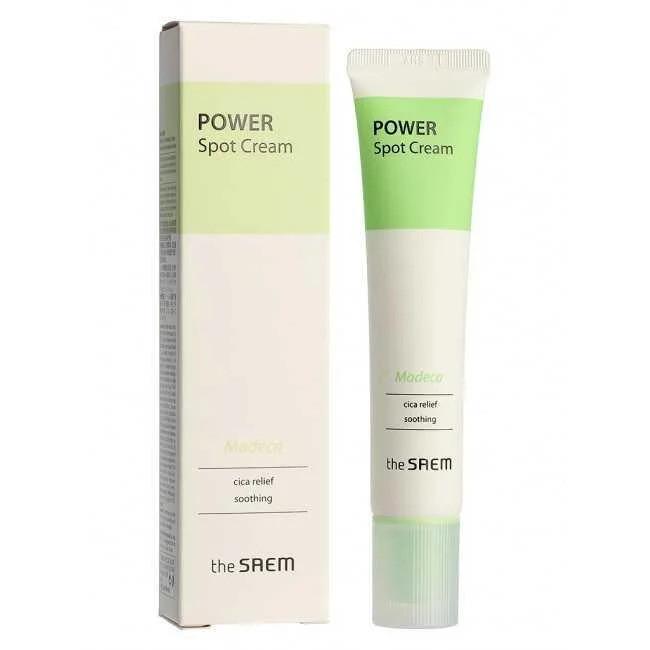 Крем для лица успокаивающий и восстанавливающий The Saem Power Spot Madeca Cream 40 мл (8806164152515)