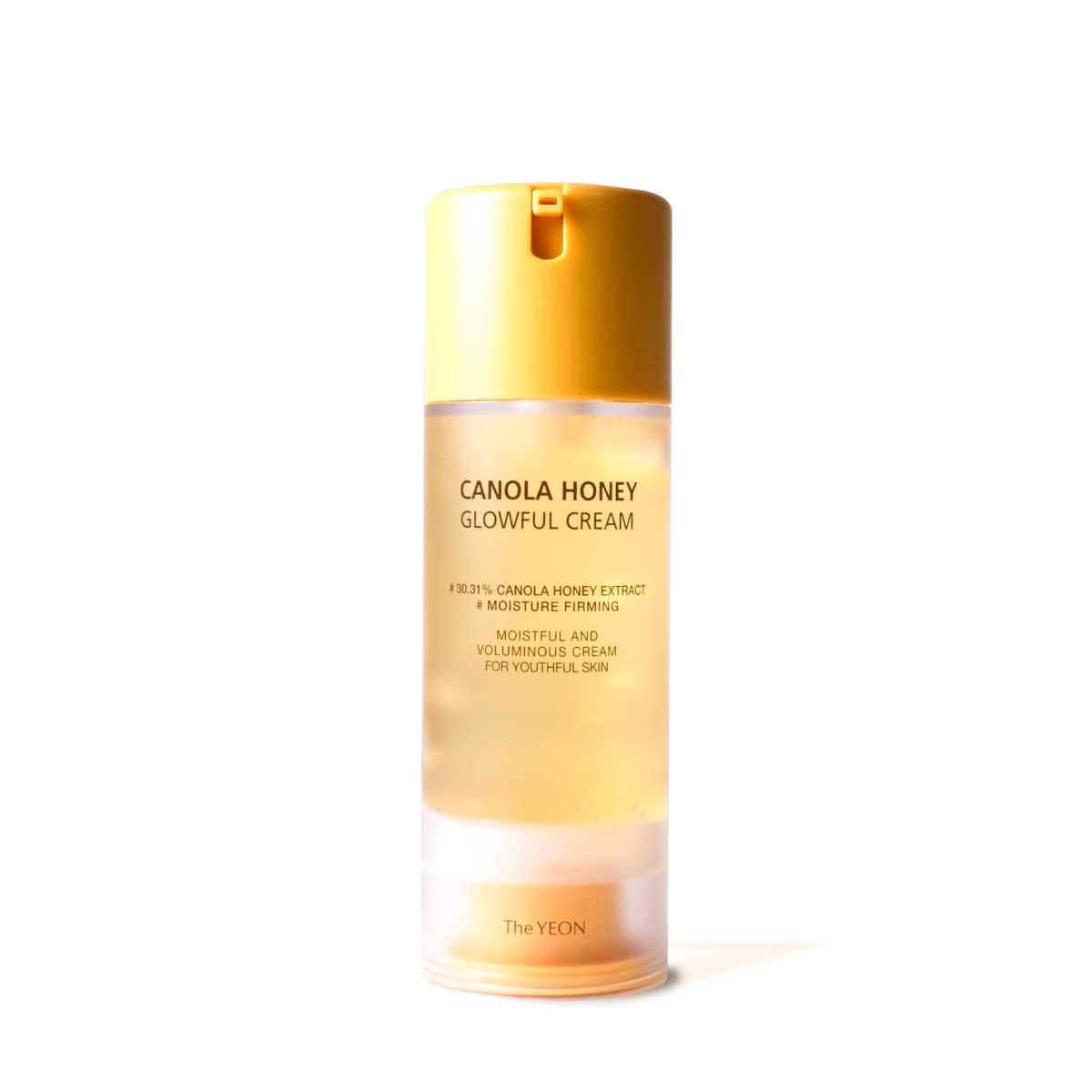 Мультифункциональный крем-гель для лица с медом канолы The Yeon Canola Honey Glowful Cream 100 мл (8809398633614)