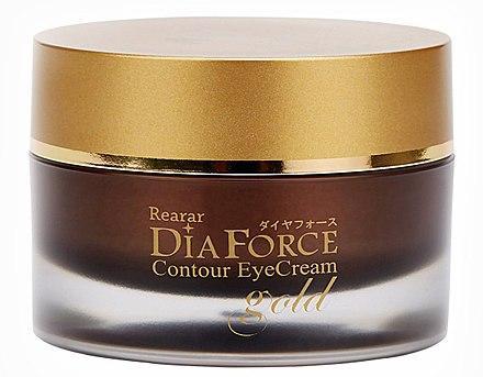 Ночной крем для контура глаз Rearar DiaForce Contour Eye Cream Gold 30 г (8809501400188)