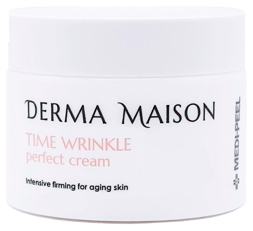Разглаживающий крем для лица против морщин Medi-Peel Derma Maison Time Wrinkle Perfect Cream 50 мл (8809409344751)