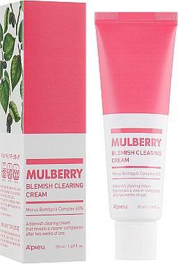 Крем для проблемной кожи лица A'pieu Mulberry Blemish Clearing Cream 50 мл (8809643507639)