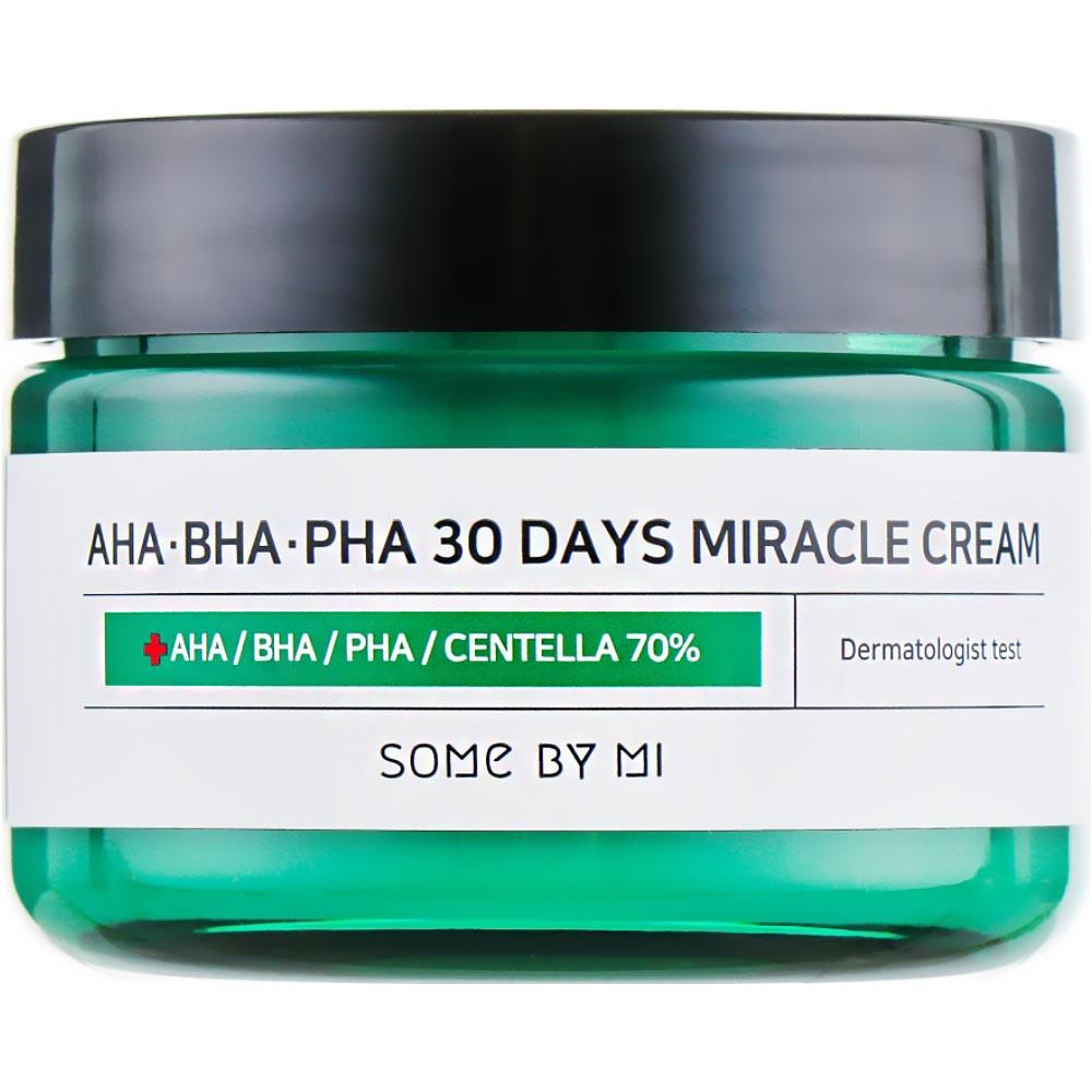 Крем для проблемной кожи лица Some By Mi AHA/BHA/PHA 30 Days Miracle Cream 50 мл (8809326334224)