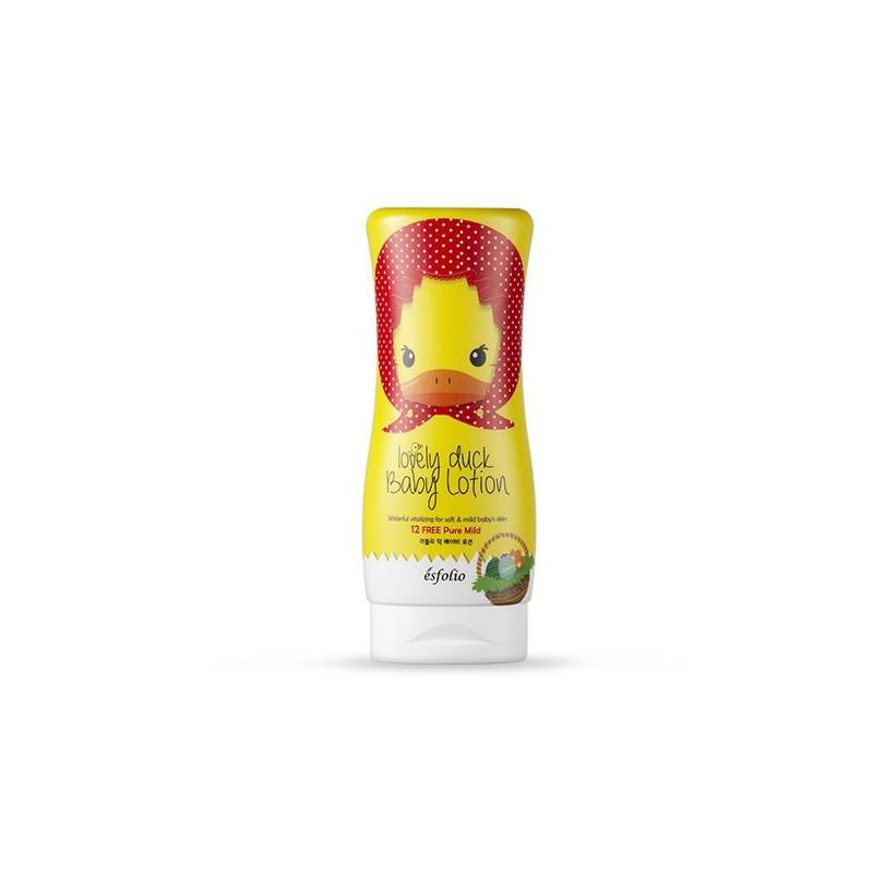 """Дитячий лосьйон для тіла """"Миле каченя"""" Esfolio Lovely Duck Baby Lotion 250 мл (8809386883830)"""