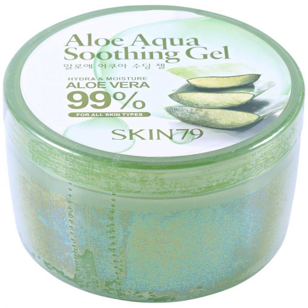Увлажняющий мультифункциональный крем-гель для лица и тела Skin79 Aloe Aqua Soothing Gel 99% 300 мл (8809223668491)