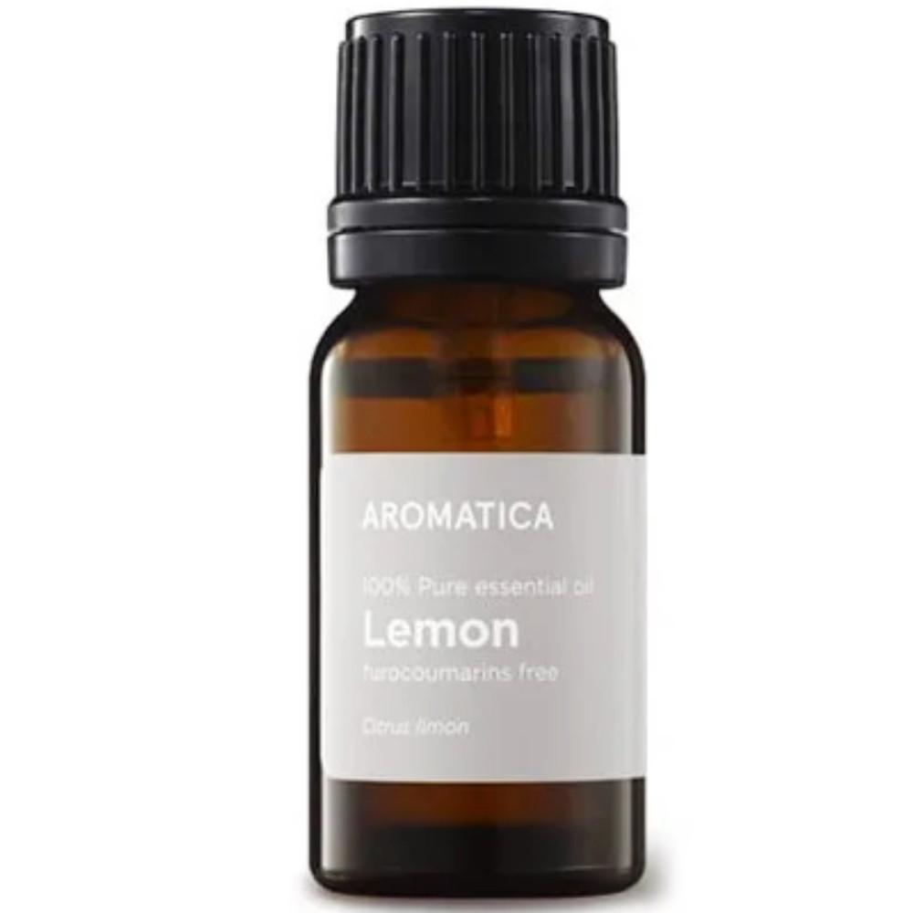 Натуральное эфирное масло лимона Aromatica Lemon Essential Oil 10 мл (8809151131630)