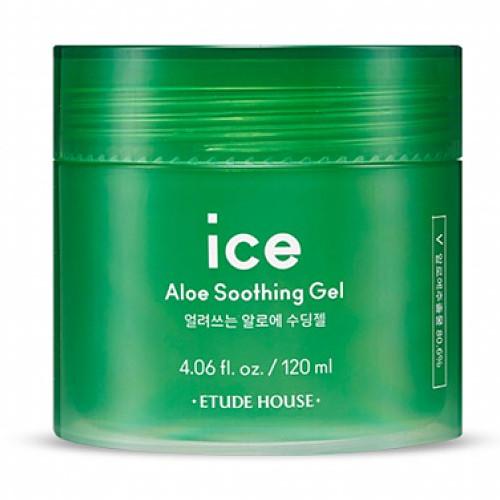 Охлаждающий увлажняющий гель с алоэ Etude House Ice Aloe Soothing Gel 120 мл (8809587363636)