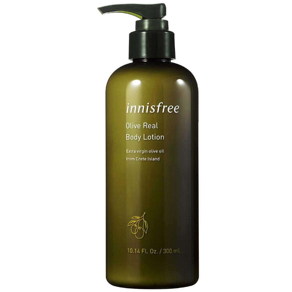 Увлажняющий лосьон для тела с оливковым маслом Innisfree Olive Real Body Lotion 300 мл (8809612864817)